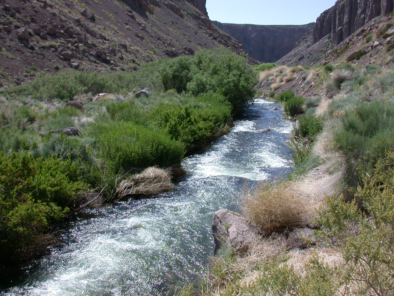 After decades of court proceedings, the owens river gorge has begun to