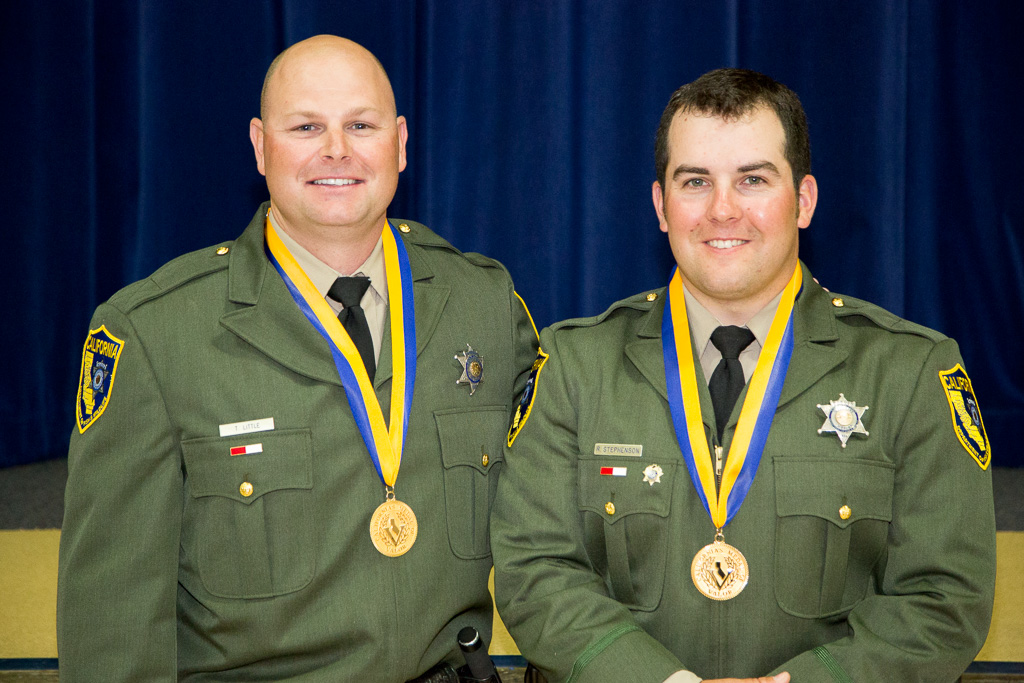 California Wildlife Officers Receive State's Highest Honor