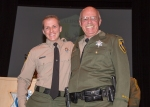CDFW Lt. Marty Wall with his son, Warden Douglas Wall.